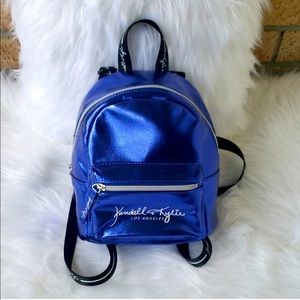 Kendall & Kylie Mini Backpack Electric Blue